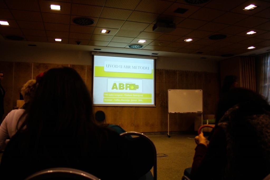 U. Majcen: Predavanje ABR metoda, 9.1.2014, Laško