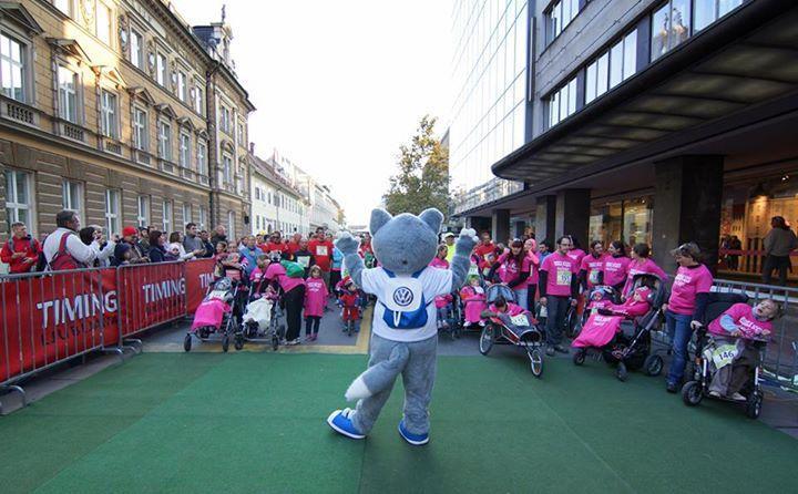 Ljubljanski maraton z Društvo Vesele nogice 25.10.2014