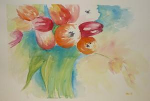 Dora Glavnik- Tulipani