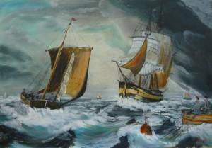Franc Polanc- Spomini na morje