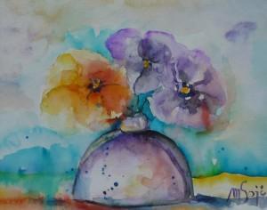 Marija Sojč- Živahno cvetje