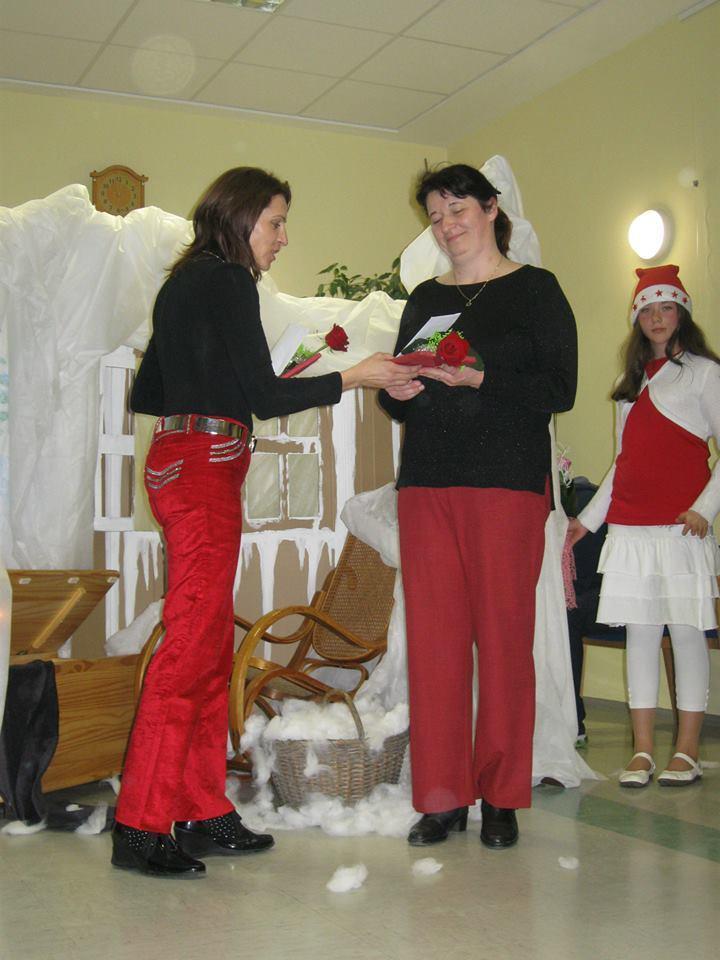 Klavdija S.: Obisk Božička v Laškem 20.12.2013