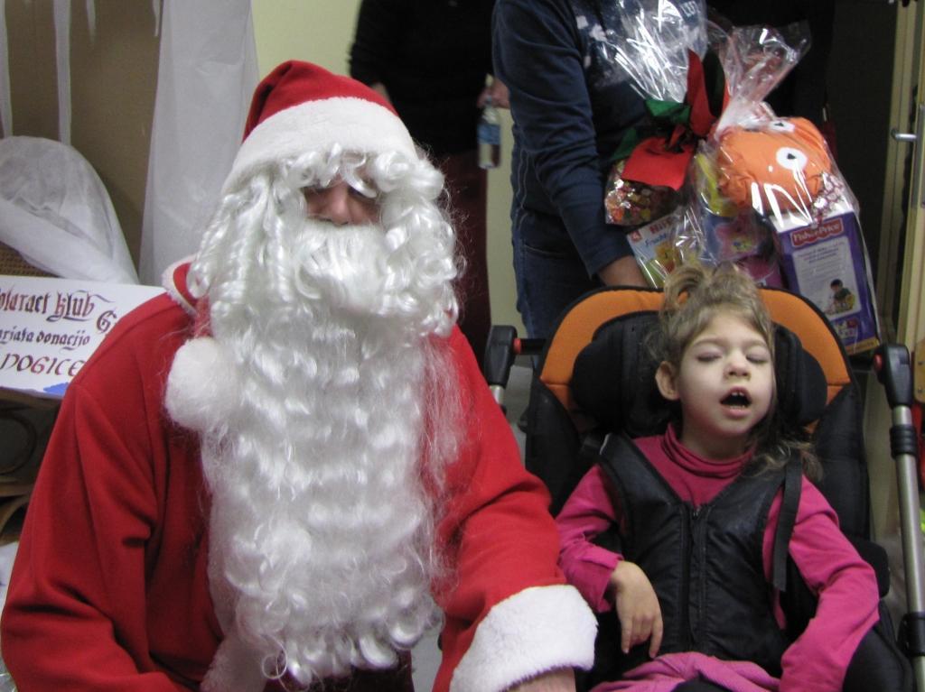 Katja D.: Obisk Božička v Laškem 20.12.2013